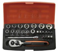 "Bahco 1/4"" Socket Set"